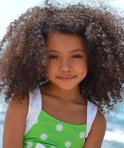 Best ideas about Curled Hairstyles For Kids . Save or Pin Natural hairstyles for African American women and girls Now.