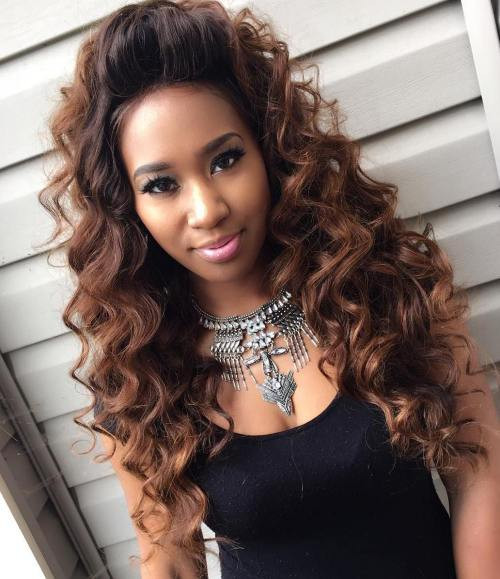 Best ideas about Curly Bob Sew In Hairstyles . Save or Pin Sew Hot 40 Gorgeous Sew In Hairstyles Now.