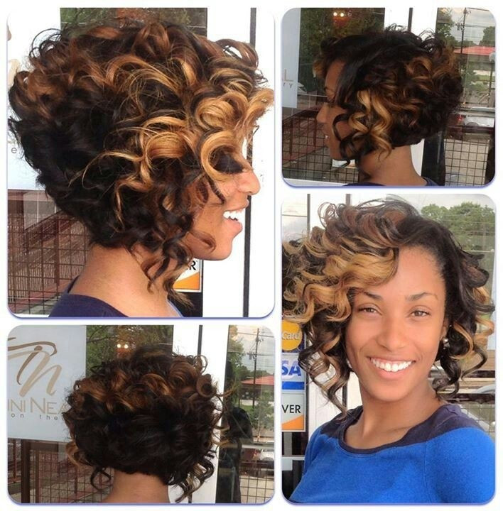 Best ideas about Curly Bob Sew In Hairstyles . Save or Pin 12 Fabulous Short Hairstyles for Black Women Now.