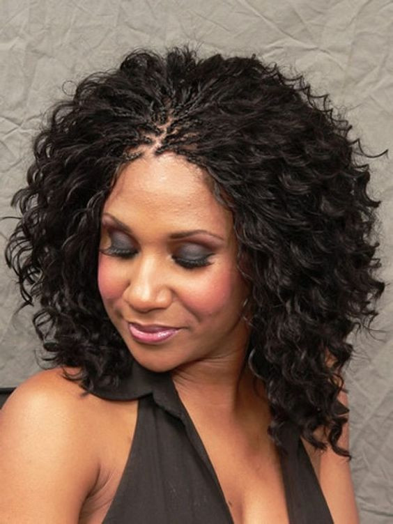 Best ideas about Curly Braids Hairstyle . Save or Pin 30 Protective Tree Braids Hairstyles For Natural Hair Now.