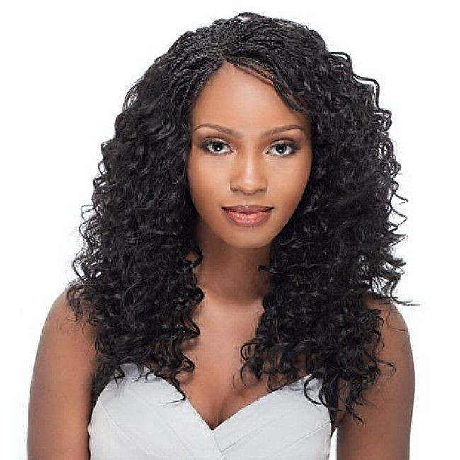 Best ideas about Curly Braids Hairstyle . Save or Pin Micro braids hairstyles with long curly hair for black Now.