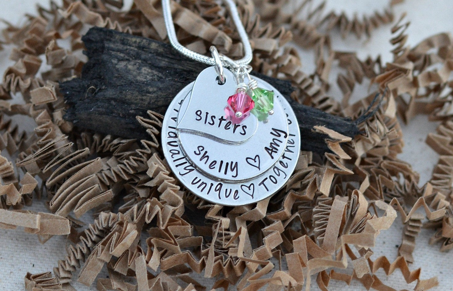 Best ideas about Custom Birthday Gifts . Save or Pin unique sister ts sister necklace sister ts for Now.