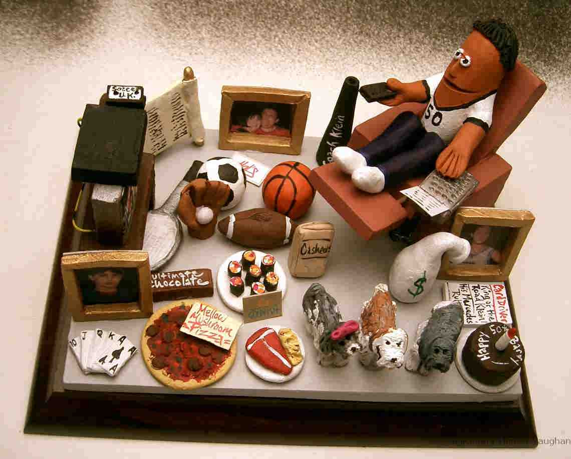 Best ideas about Custom Birthday Gifts . Save or Pin Custom figurines a personalized clay figurine of your family Now.