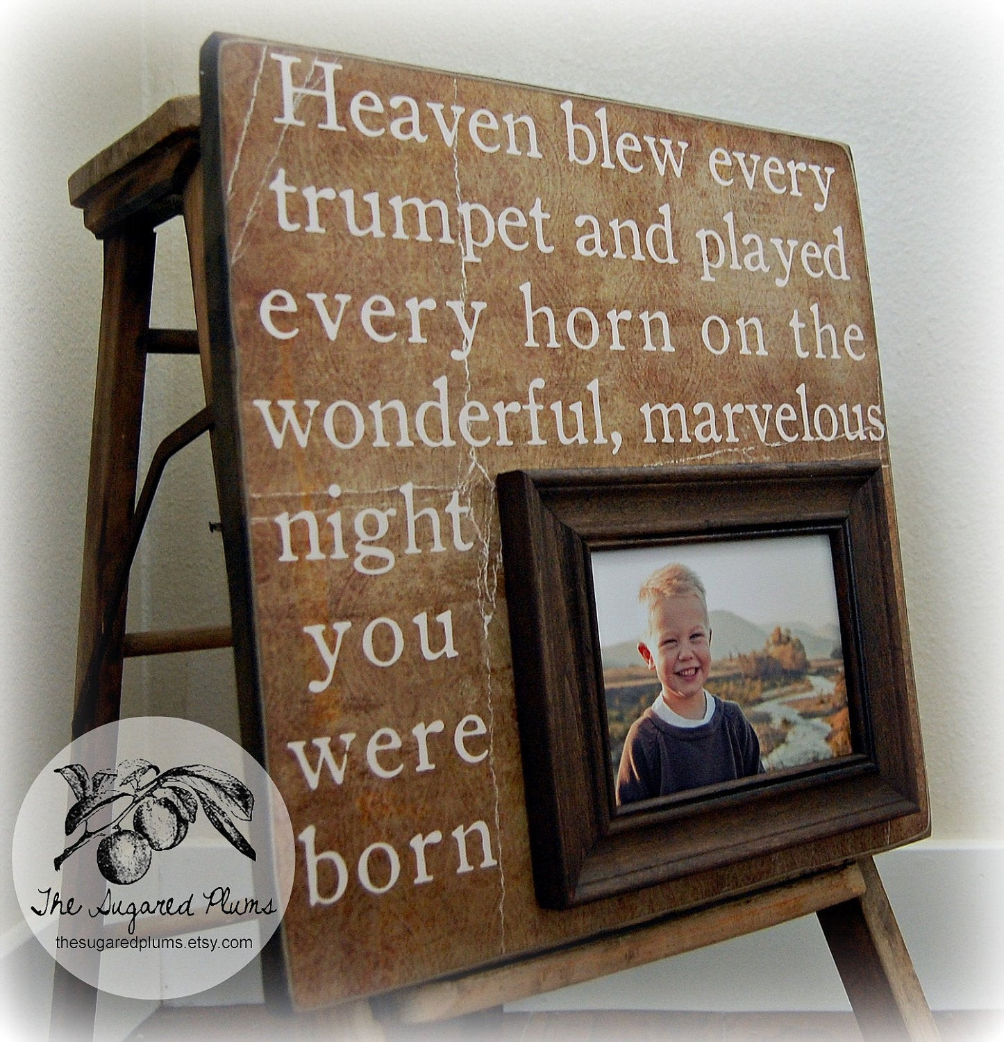 Best ideas about Custom Birthday Gifts . Save or Pin First Birthday Gift Personalized Picture Frame by Now.