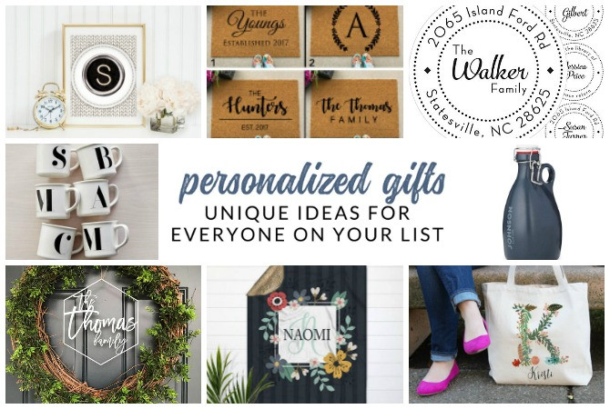 Best ideas about Custom Gift Ideas . Save or Pin Unique personalized ts sure to WOW everyone on your Now.