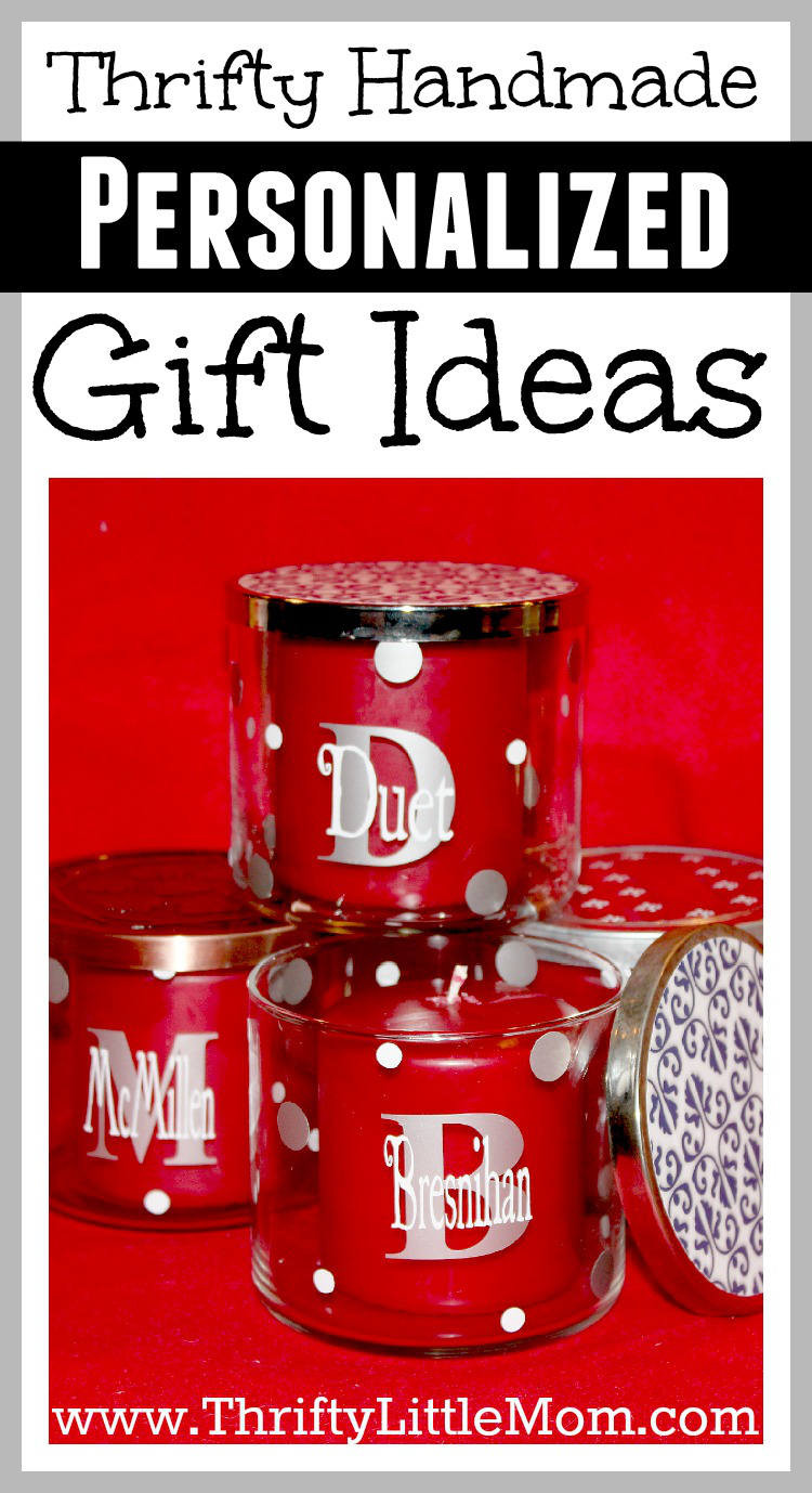 Best ideas about Custom Gift Ideas . Save or Pin Thrifty Handmade Personalized Vinyl Decal Gift Ideas Now.