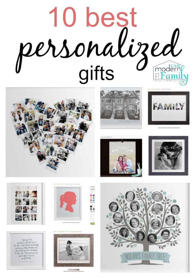 Best ideas about Custom Gift Ideas . Save or Pin 10 best personalized t ideas yourmodernfamily Now.