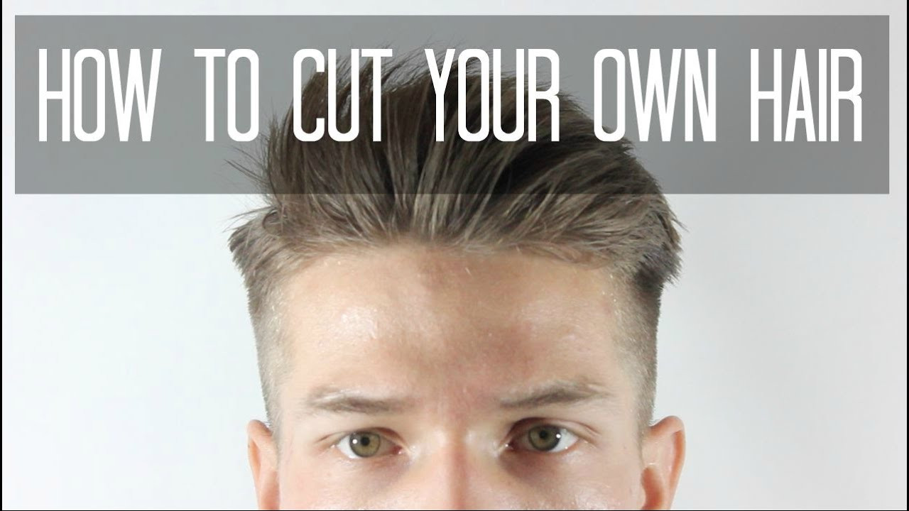 Best ideas about Cut Own Hair Male . Save or Pin How To Cut Your Own Hair Taper Cut Men s Hairstyles Now.