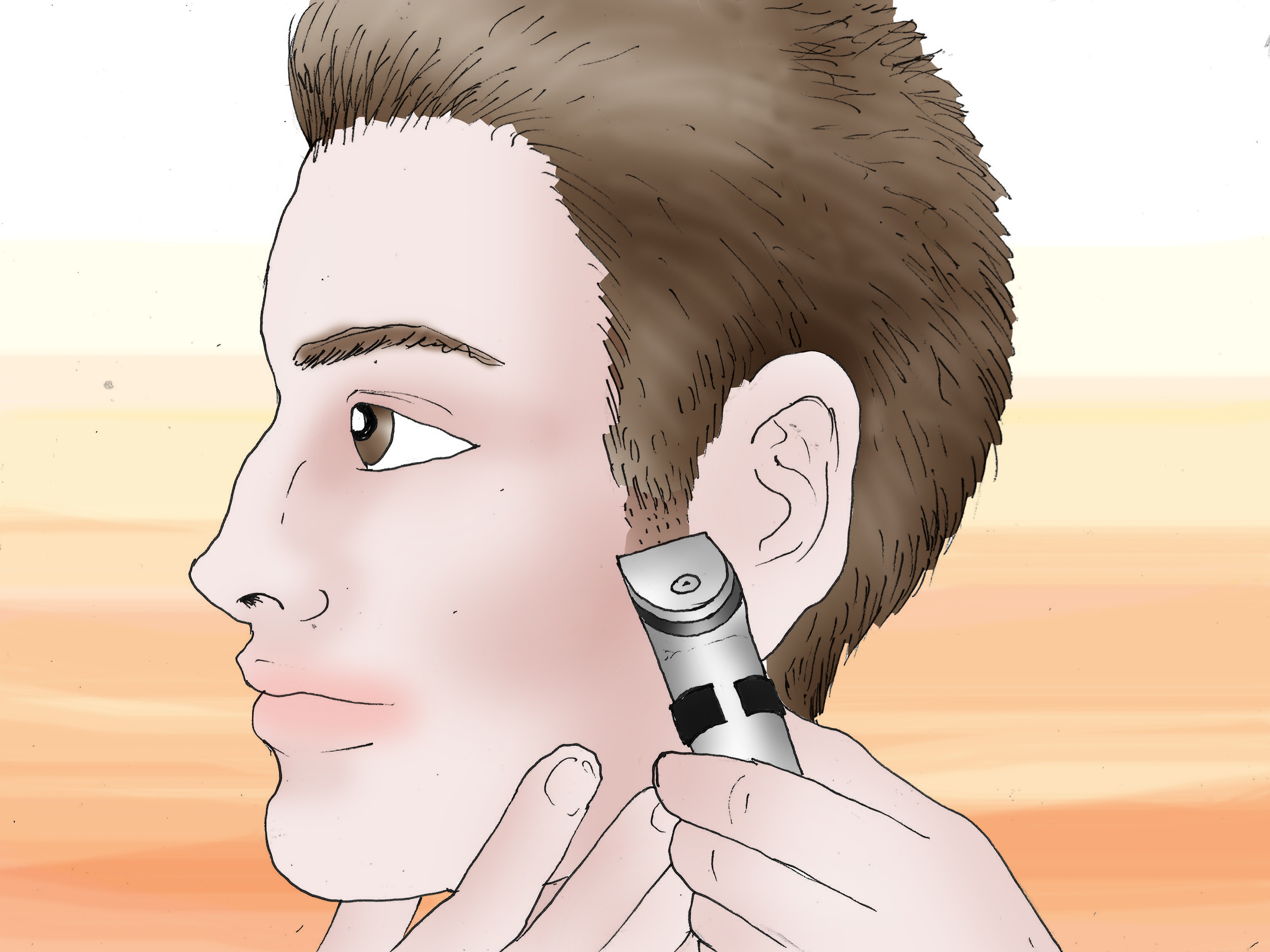Best ideas about Cut Own Hair Male . Save or Pin How to Cut Your Own Hair Men 13 Steps with Now.