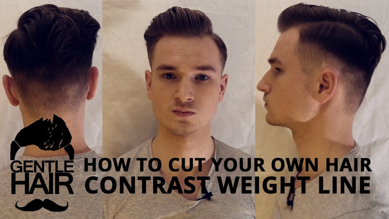 Best ideas about Cut Own Hair Male . Save or Pin How to cut your own hair for men Now.