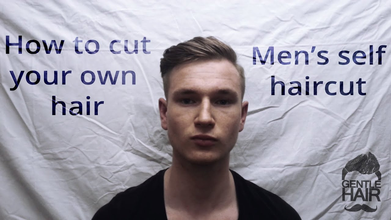 Best ideas about Cut Own Hair Male . Save or Pin How to cut your own hair Men s self haircut Now.