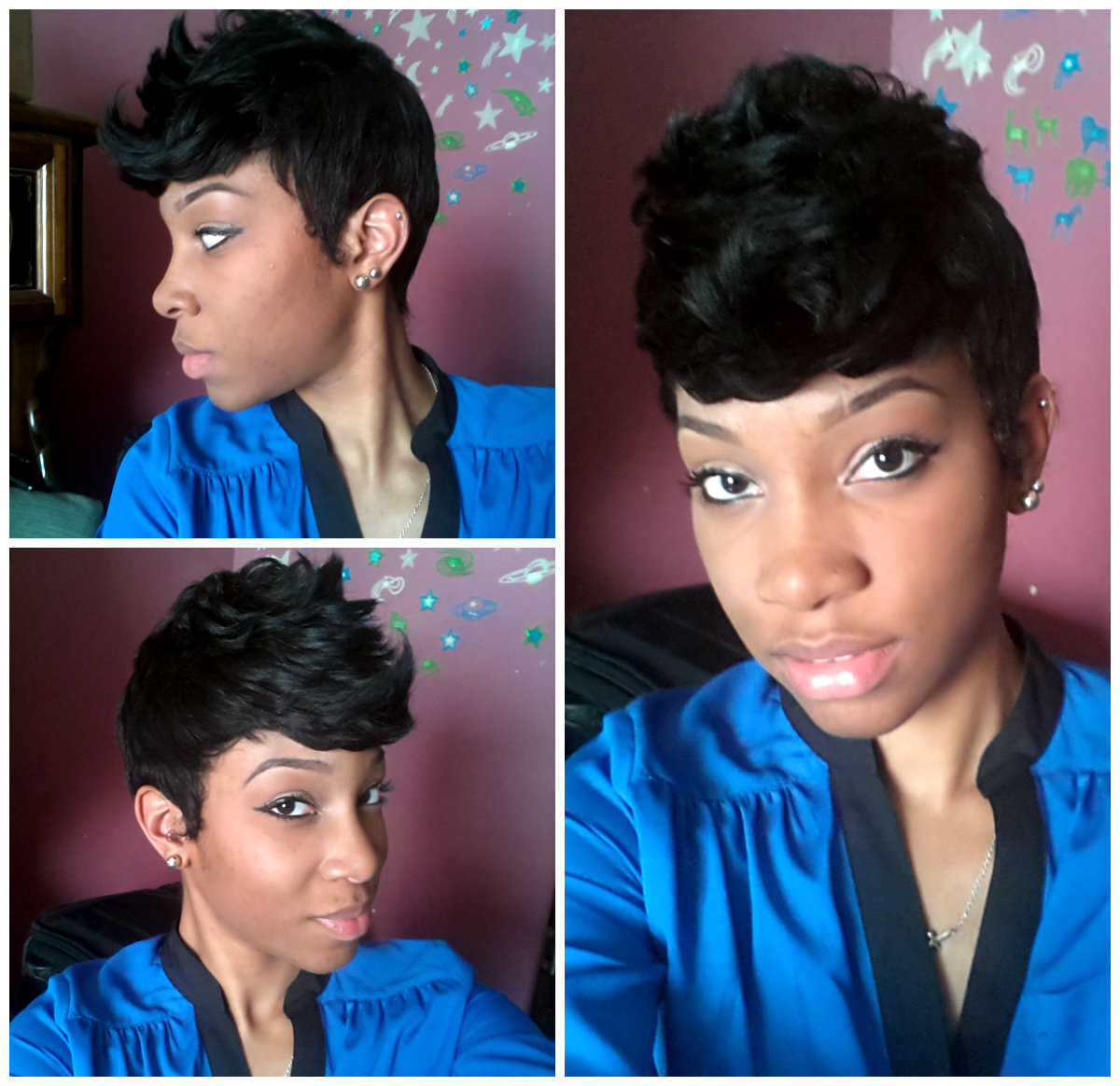 Best ideas about Cute 27 Piece Hairstyles . Save or Pin My Pixie Cut 27 Layer Piece Quick Weave Wig Now.