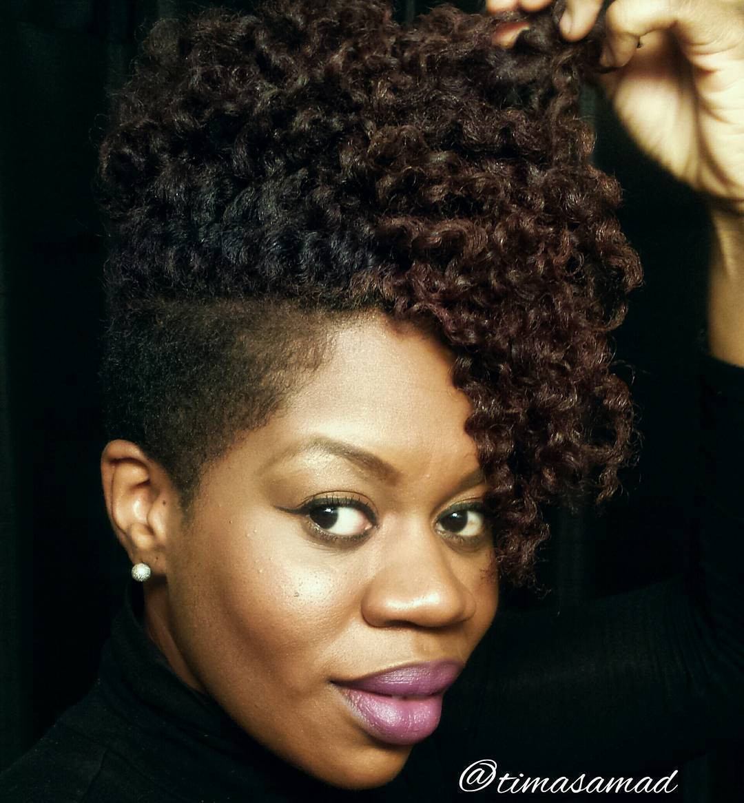 Best ideas about Cute African American Hairstyles . Save or Pin 40 Cute Tapered Natural Hairstyles for Afro Hair Now.