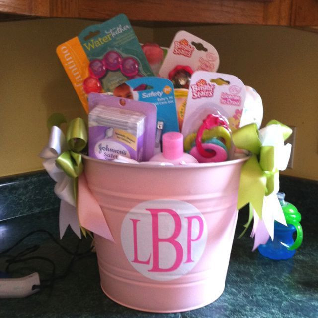 Best ideas about Cute Baby Shower Gift Ideas For A Girl . Save or Pin DIY Baby Shower Ideas for Girls Now.