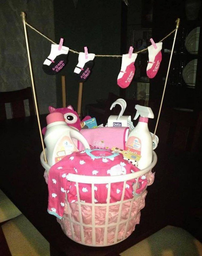 Best ideas about Cute Baby Shower Gift Ideas For A Girl . Save or Pin 30 of the BEST Baby Shower Ideas Kitchen Fun With My 3 Now.