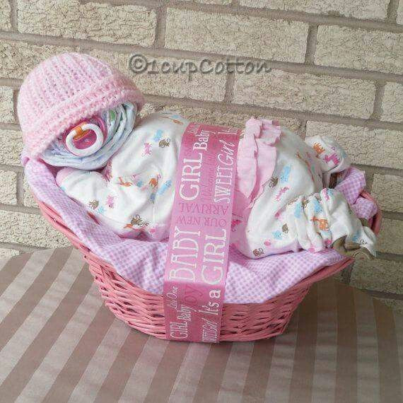 Best ideas about Cute Baby Shower Gift Ideas For A Girl . Save or Pin 1000 images about Diaper Cakes on Pinterest Now.