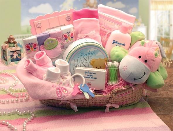 Best ideas about Cute Baby Shower Gift Ideas For A Girl . Save or Pin Ideas to Make Baby Shower Gift Basket Now.