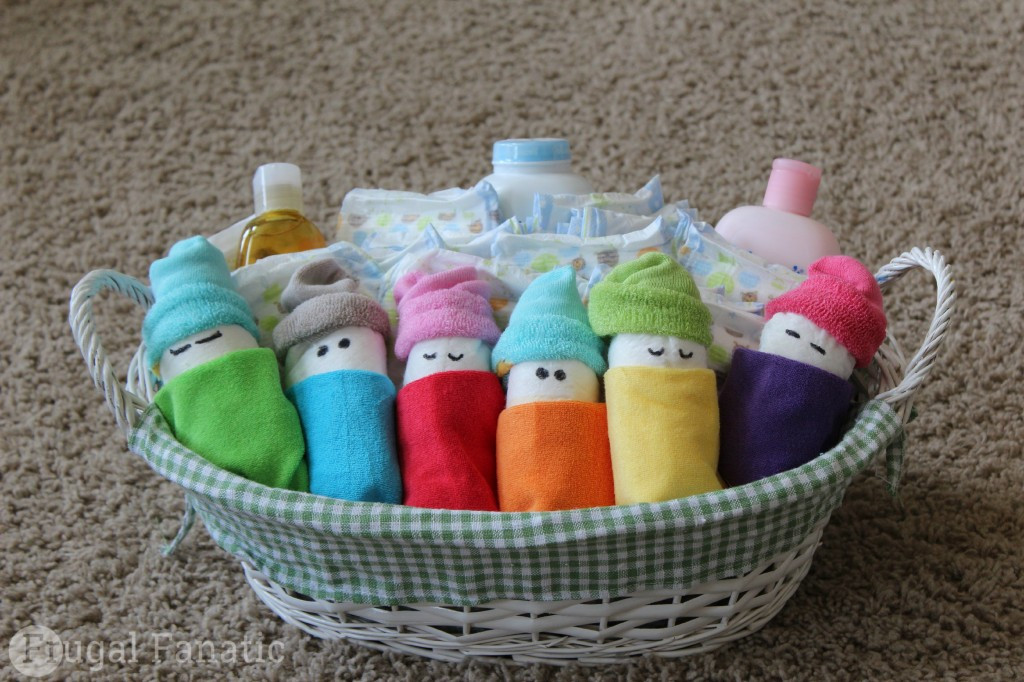 Best ideas about Cute Baby Shower Gift Ideas . Save or Pin How To Make Diaper Babies Easy Baby Shower Gift Idea Now.