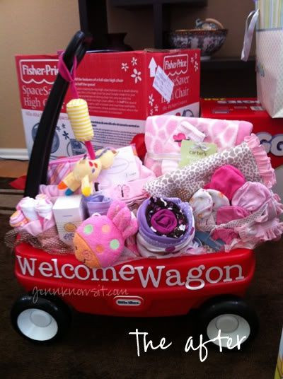 Best ideas about Cute Baby Shower Gift Ideas . Save or Pin Wel e Wagon great baby shower t idea Is it wrong I Now.