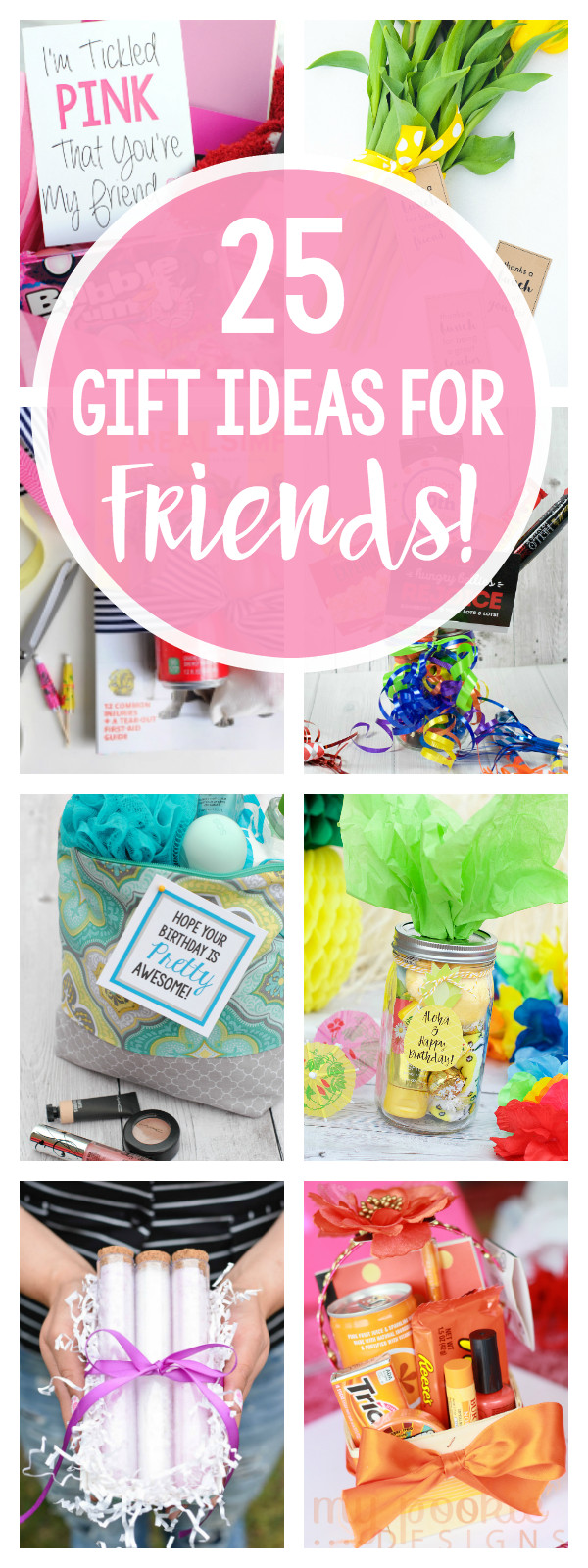 Best ideas about Cute Birthday Gift Ideas For Best Friend . Save or Pin 25 Fun Gifts for Best Friends for Any Occasion – Fun Squared Now.