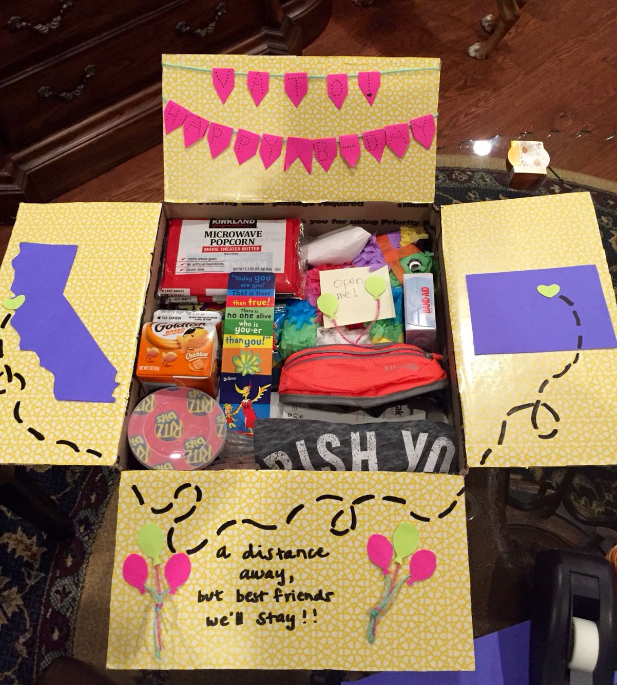 Best ideas about Cute Birthday Gift Ideas For Best Friend . Save or Pin Birthday care package for a best friend Gigi Gonzalez Now.