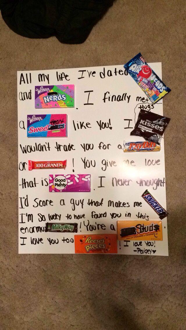 Best ideas about Cute Birthday Gift Ideas For Boyfriend . Save or Pin Best 25 Cute boyfriend surprises ideas on Pinterest Now.