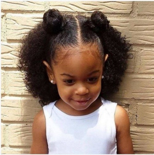 Best ideas about Cute Black Girl Hairstyles . Save or Pin 40 Cute Hairstyles for Black Little Girls Now.