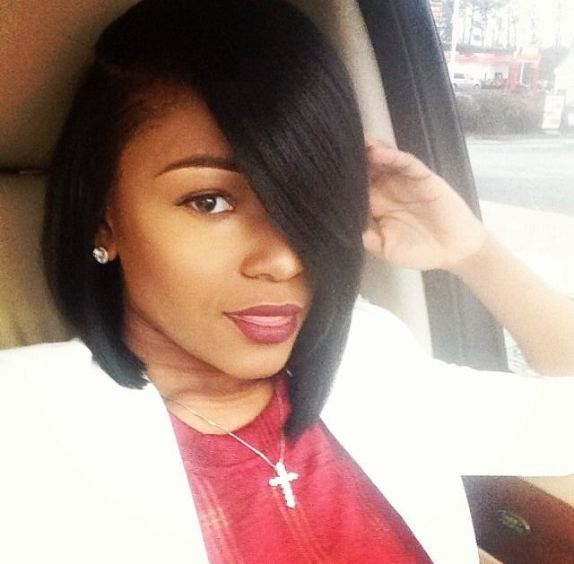 Best ideas about Cute Bob Haircuts For Black Females . Save or Pin 13 Fabulous Short Bob Hairstyles for Black Women Now.