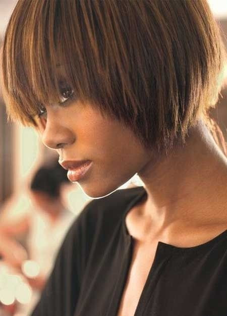 Best ideas about Cute Bob Haircuts For Black Females . Save or Pin Groovy Short Bob Hairstyles for Black Women Now.
