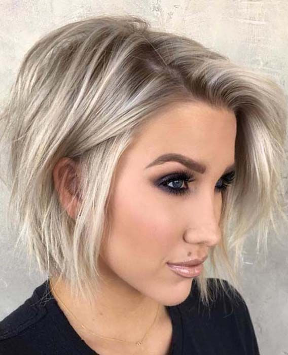 Best ideas about Cute Bob Hairstyles 2019 . Save or Pin 64 Amazing Messy Bob Haircuts for Women 2019 Now.