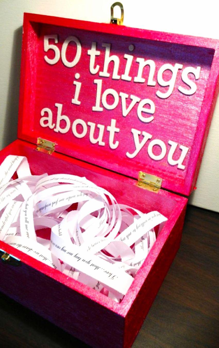 Best ideas about Cute Boyfriend Valentine Gift Ideas . Save or Pin 26 Homemade Valentine Gift Ideas For Him DIY Gifts He Now.
