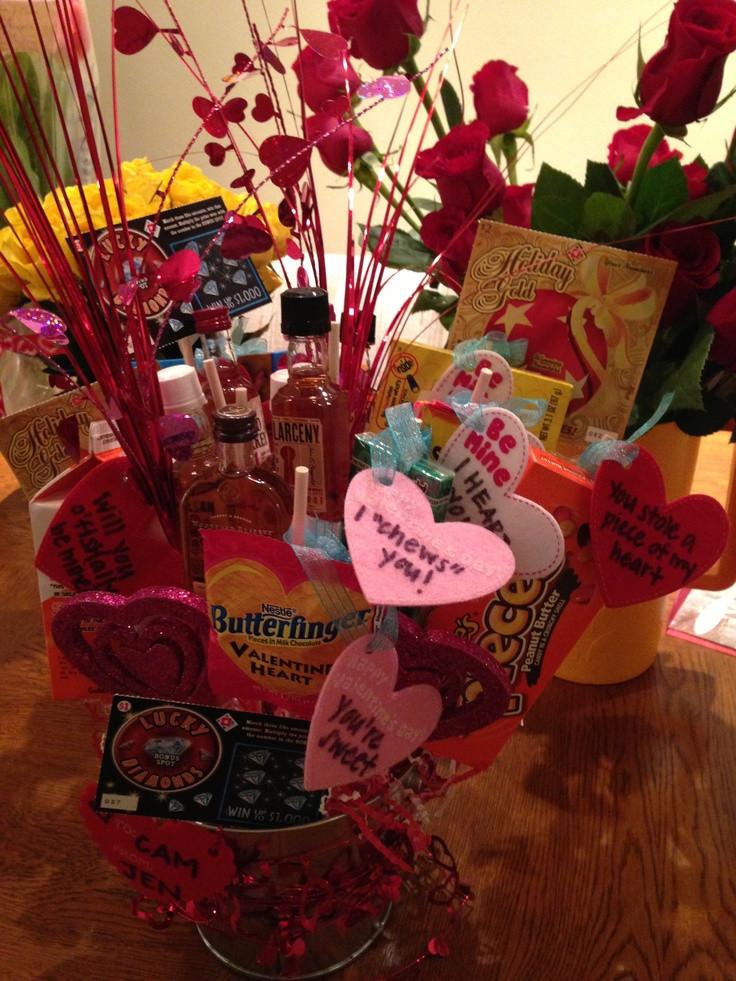 Best ideas about Cute Boyfriend Valentine Gift Ideas . Save or Pin Cute Valentines day t for boyfriend a man bouquet Now.