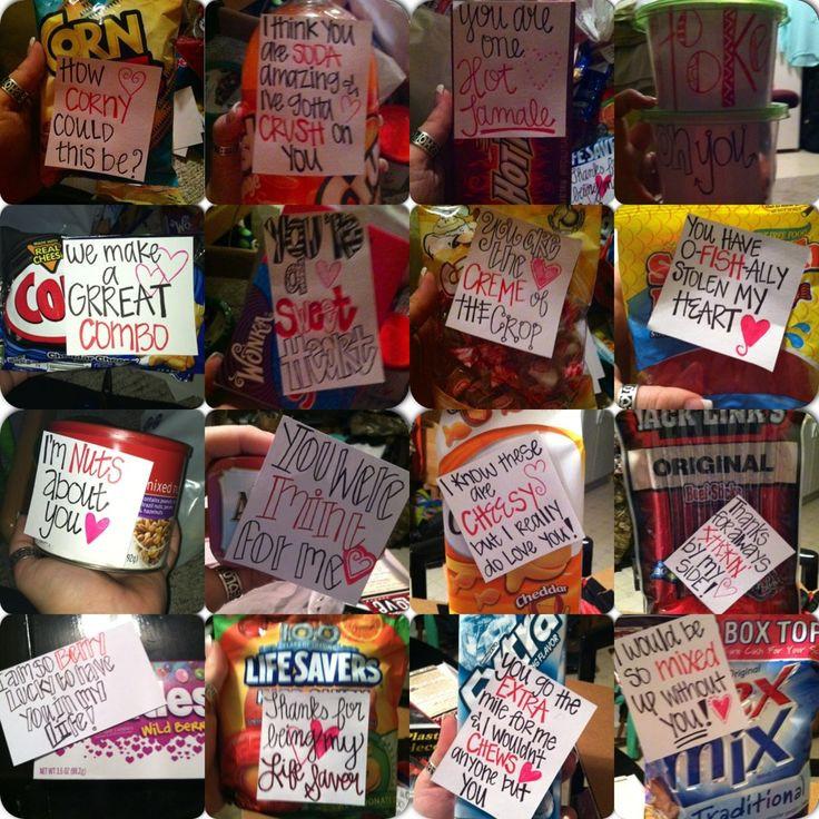 Best ideas about Cute Boyfriend Valentine Gift Ideas . Save or Pin 1000 ideas about Boyfriend Notes on Pinterest Now.