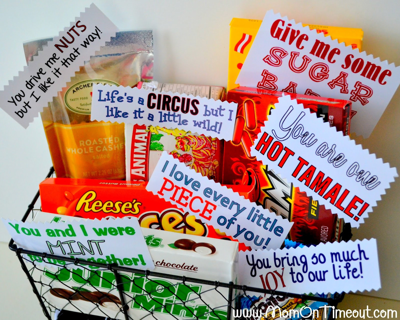 Best ideas about Cute Boyfriend Valentine Gift Ideas . Save or Pin Sweet Anniversary Gift Idea Mom Timeout Now.