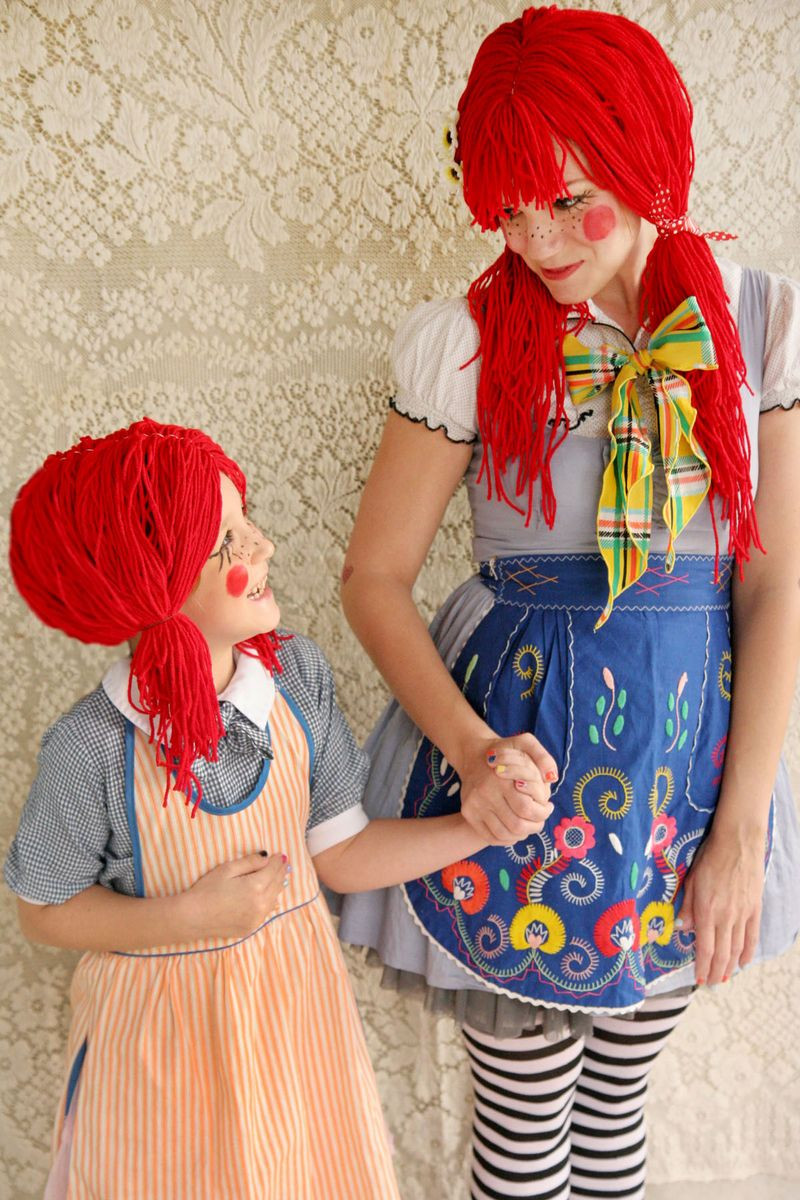 Best ideas about Cute DIY Halloween Costumes . Save or Pin Rag Doll Halloween Costume D I Y A Beautiful Mess Now.