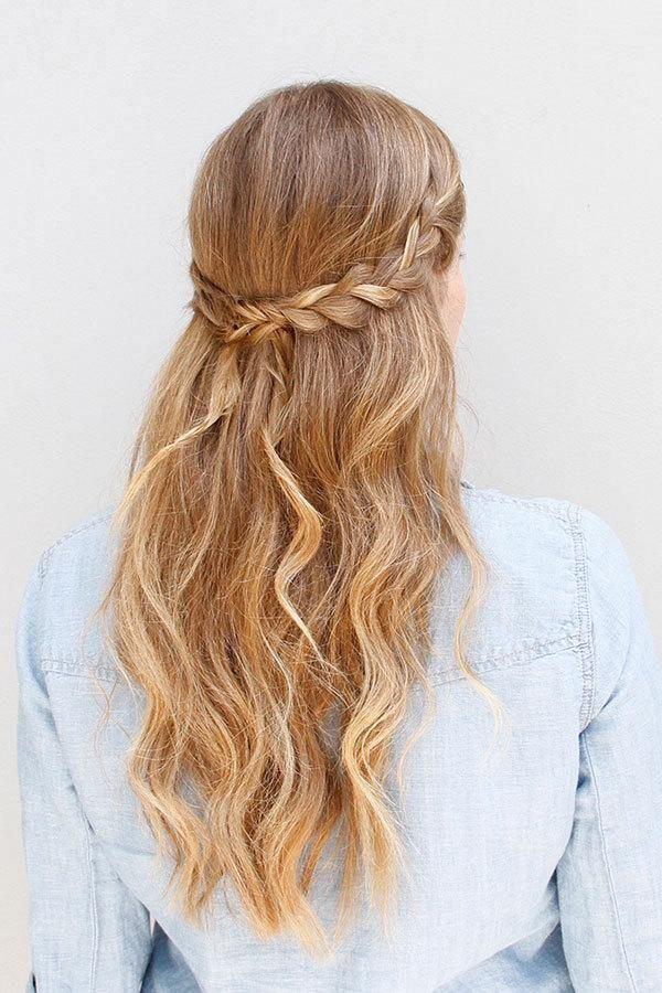 Best ideas about Cute Down Hairstyles For Long Hair . Save or Pin 55 Stunning Half Up Half Down Hairstyles Now.