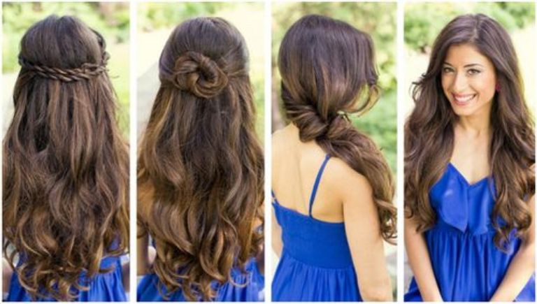 Best ideas about Cute Down Hairstyles For Long Hair . Save or Pin Tricks in Applying Cute Easy Hairstyles for Long Hair Now.