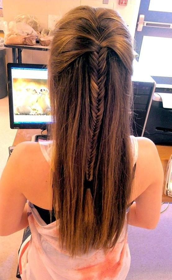 Best ideas about Cute Down Hairstyles For Long Hair . Save or Pin 15 Cute Hairstyles with Braids PoPular Haircuts Now.