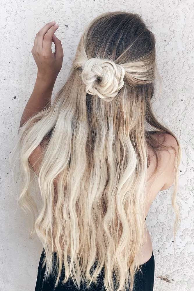 Best ideas about Cute Down Hairstyles For Long Hair . Save or Pin Best 25 Prom hairstyles down ideas on Pinterest Now.