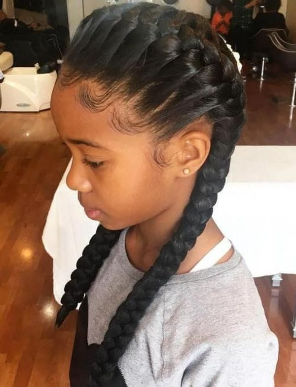 Best ideas about Cute Easy Black Girl Hairstyles . Save or Pin Braids for Kids Black Girls Hairstyles Trending in July 2019 Now.
