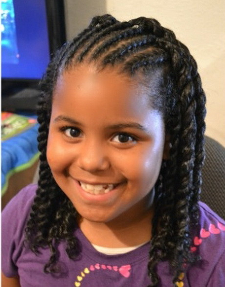 Best ideas about Cute Easy Black Girl Hairstyles . Save or Pin Cute braided hairstyles for black girls Now.