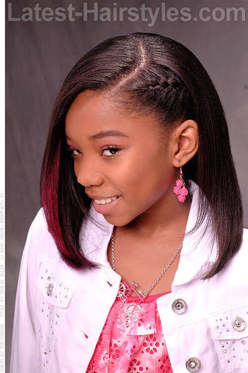 Best ideas about Cute Easy Black Girl Hairstyles . Save or Pin 20 Cute Hairstyles for Black Teenage Girls Now.
