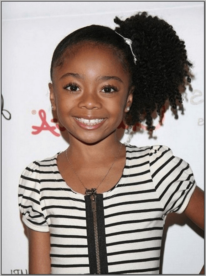Best ideas about Cute Easy Black Girl Hairstyles . Save or Pin 15 Best Hairstyles For Little Black Girl Cute and Beautiful Now.