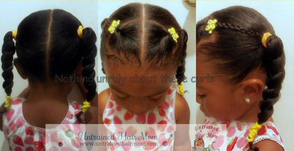 Best ideas about Cute Easy Black Girl Hairstyles . Save or Pin 5 Easy Creative Natural Hairstyles Now.