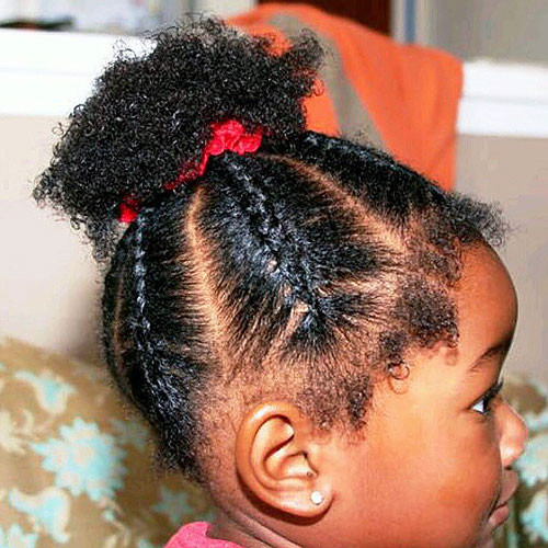 Best ideas about Cute Easy Black Girl Hairstyles . Save or Pin Black Girls Hairstyles and Haircuts – 40 Cool Ideas for Now.