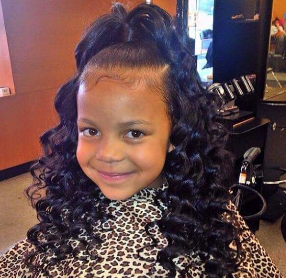 Best ideas about Cute Easy Black Girl Hairstyles . Save or Pin This is a really cute style for a little girl Ninie Now.