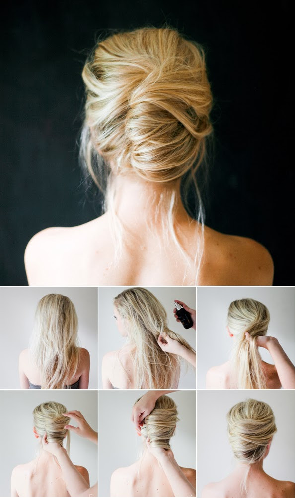 Best ideas about Cute Easy Simple Hairstyles . Save or Pin 20 Cute and Easy Hairstyle Ideas and Tutorials Style Now.
