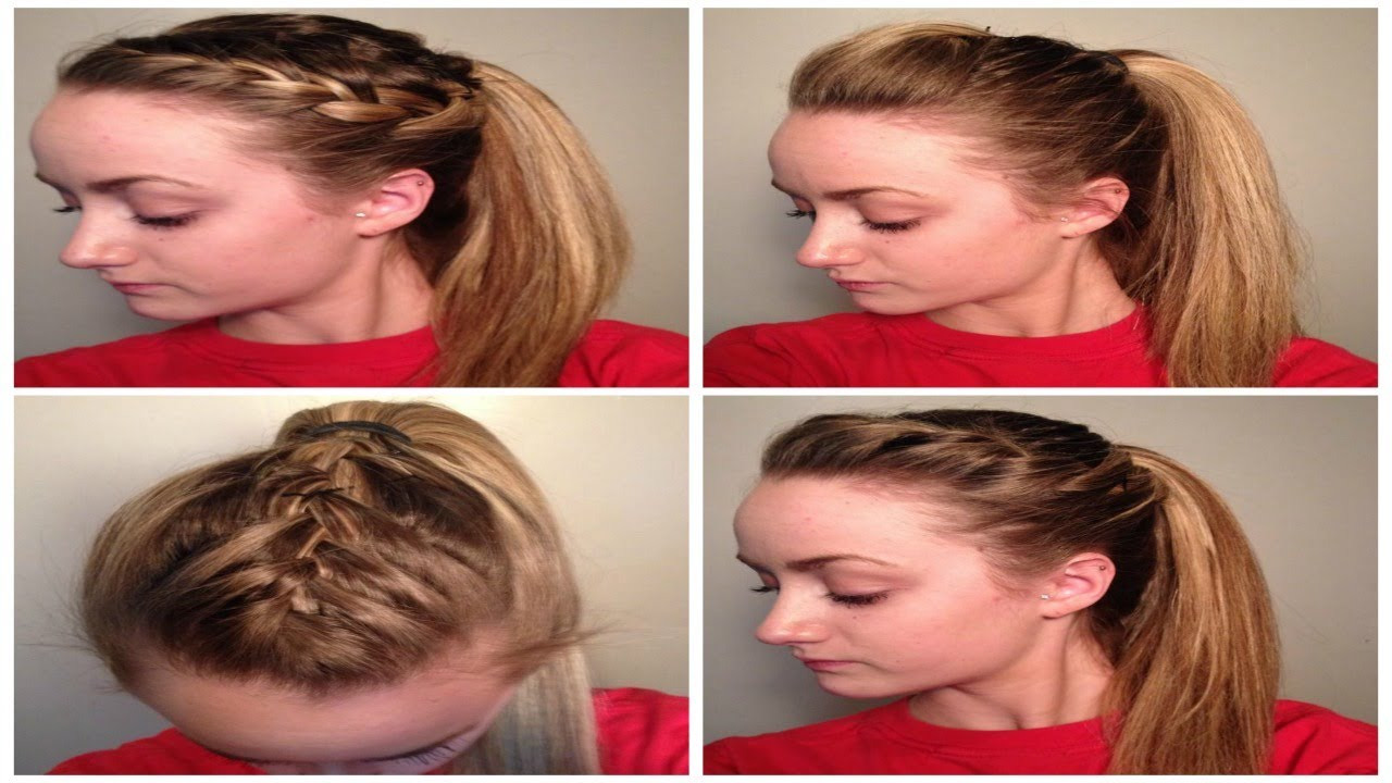 Best ideas about Cute Easy Simple Hairstyles . Save or Pin 4 Quick Easy CUTE Sporty Hairstyles ♡ Now.
