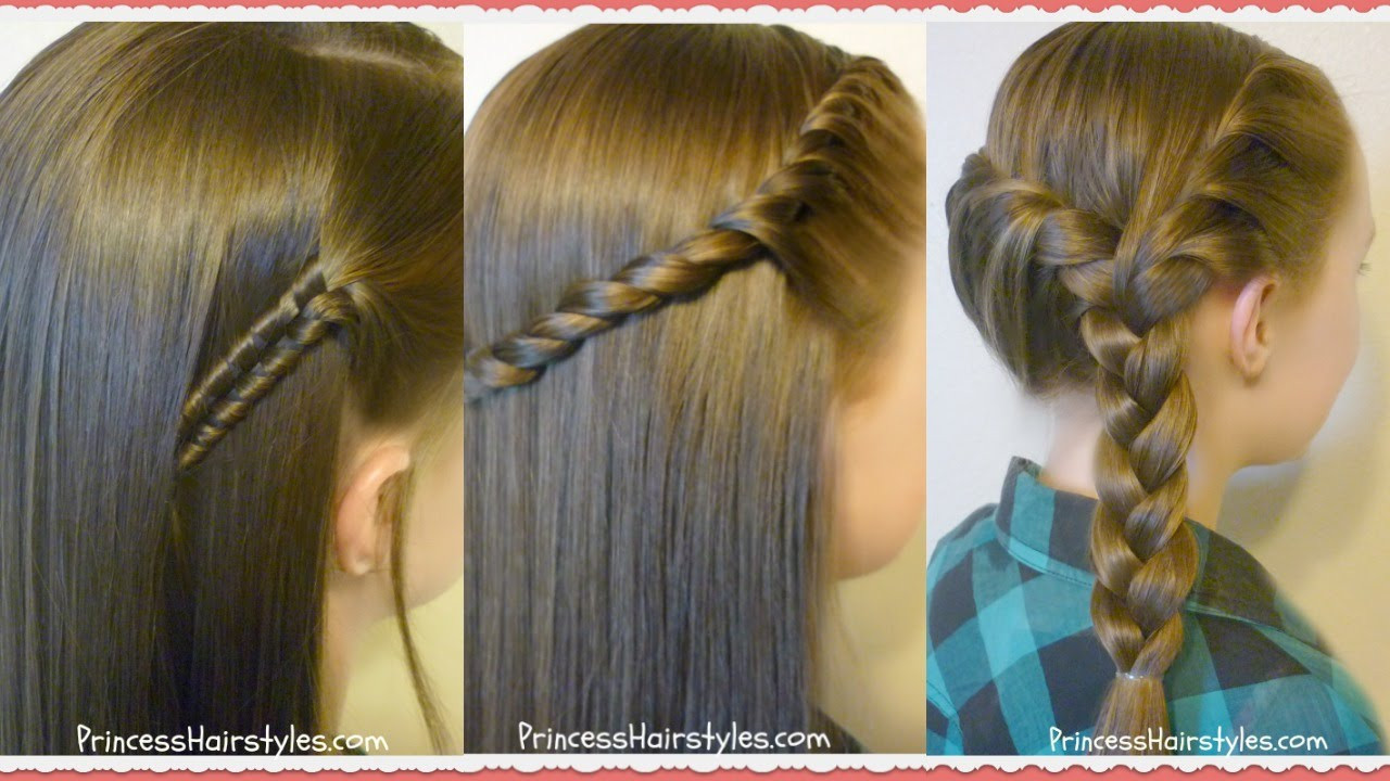 Best ideas about Cute Easy To Do Hairstyles . Save or Pin 3 Easy Back To School Hairstyles Now.