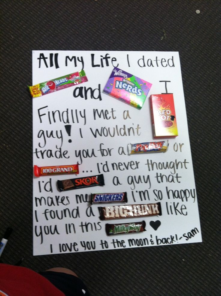 Best ideas about Cute Gift Ideas For Boyfriend . Save or Pin t ideas for boyfriend Gift for the boyfriend Now.